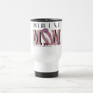Whippet MOM Travel Mug