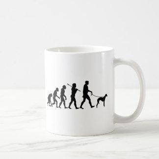 Whippet Classic White Coffee Mug