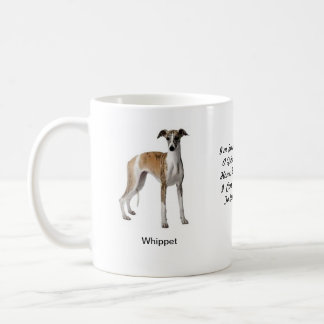 Whippet Mug - With two images and a motif