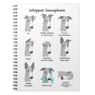 Whippet Semaphore Notebooks