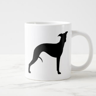 Whippet Silhouettes Large Coffee Mug
