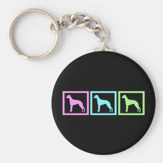 Whippet Squares Key Chains