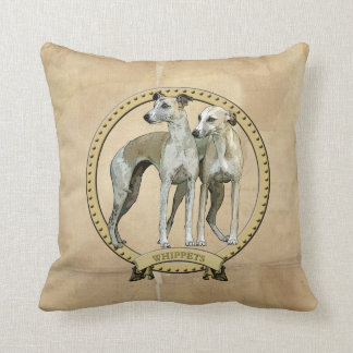 Whippets couples cushion