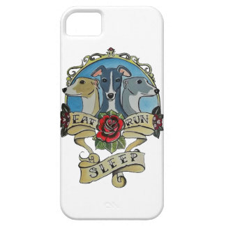 whippets - Eat, Run, Sleep iPhone 5 Cases