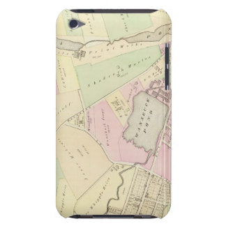 Whipple's Pond Geneva Mills Wanskuck Mil Atlas Map iPod Touch Case-Mate Case
