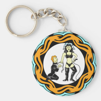 Whips And Chains That Bind Me Keychain