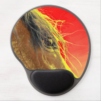 Whip's Eye Horse Gel Mousepad