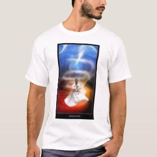 whirl whirling dervish turkish zikr dhikr tasawuff T-Shirt