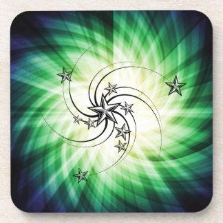 Whirled Stars Drink Coaster
