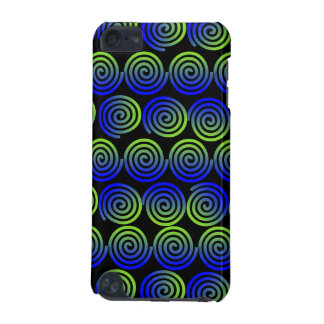 Whirlie Curly Que Blue Green ipod Touch 5g case