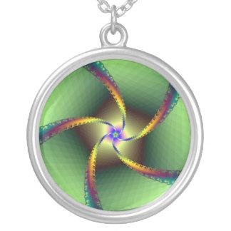 Whirligig in Green Pendant