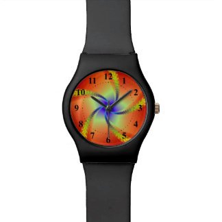 Whirligig in Red and Yellow Watch