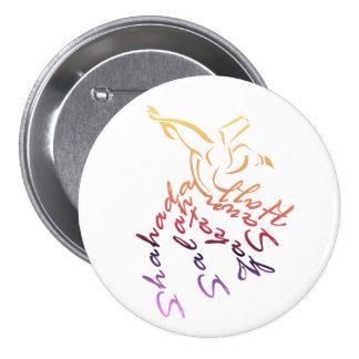 Whirling Dervish 7.5 Cm Round Badge