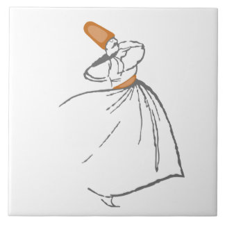 Whirling Dervish Tile