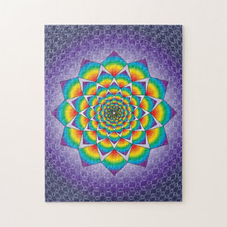 WHIRLING SQUARES JIGSAW PUZZLE