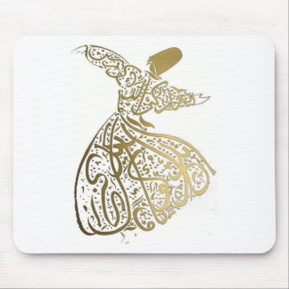 Whirling Sufi Dervish Mouse Pad
