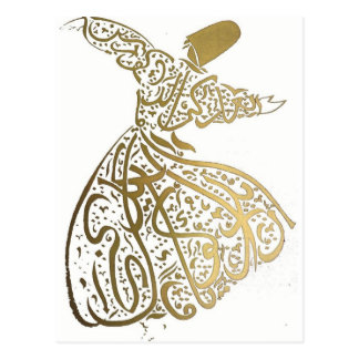 Whirling Sufi Dervish Postcard