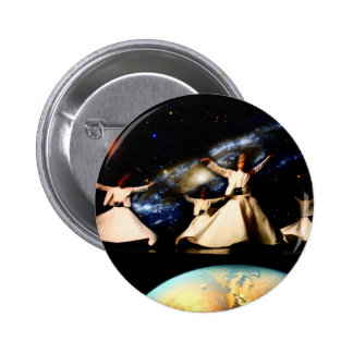 Whirling Universe 6 Cm Round Badge