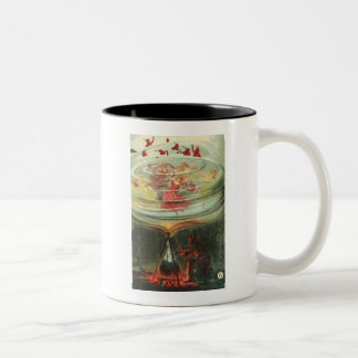 whirling witches Two-Tone coffee mug
