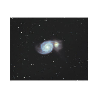 Whirlpool Galaxy #7 Canvas Print