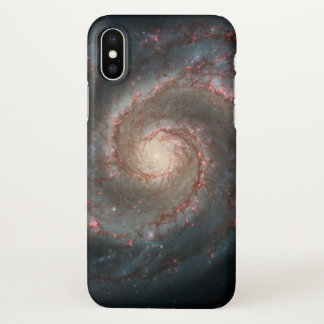 Whirlpool Galaxy iPhone X Case