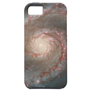 Whirlpool Galaxy (M51) and Companion Galaxy iPhone 5 Cover