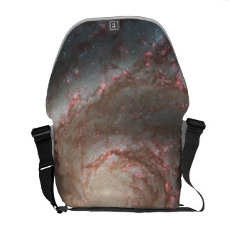Whirlpool Galaxy (M51) and Companion Galaxy Messenger Bags
