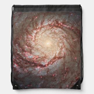 Whirlpool Galaxy Drawstring Bag