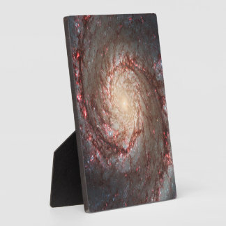 Whirlpool Galaxy Plaque