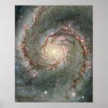 Whirlpool Galaxy Poster