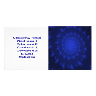 Whirlpool Ocean Depths Customizable Business Card Photo Greeting Card