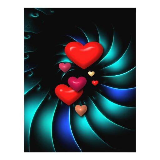 Whirlwind Romance Romantic Sweethearts Custom Flyer