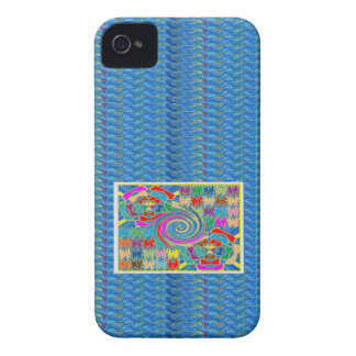 Whirlwind Waves Tornado Decorative Graphics NOVINO iPhone 4 Case-Mate Cases