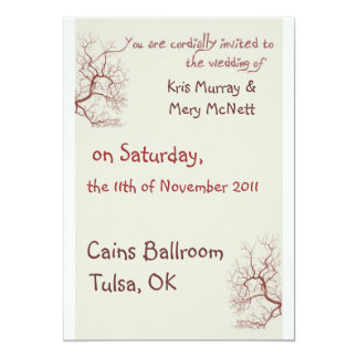 Whisical Branches Invitations