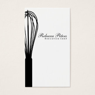 Whisk variation | Culinary Master Business Card