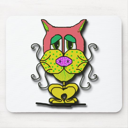 whiskers mouse mat