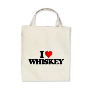 Whiskey Canvas Bag