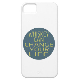 Whiskey Can Change Your Life iPhone 5 Cover