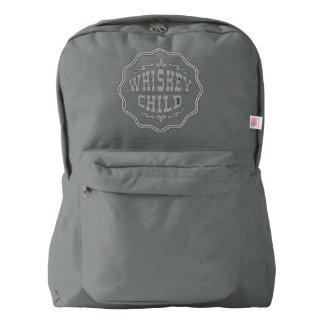 WHISKEY CHILD - Backpack w/Fall Harvest Logo
