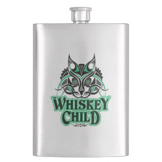 WHISKEY CHILD - Stainless Steel Flask