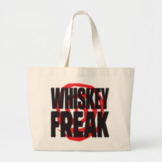 Whiskey Freak Canvas Bag