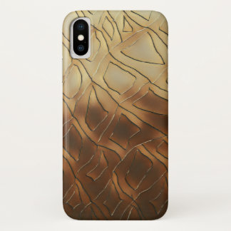 Whiskey Glass iPhone X Case