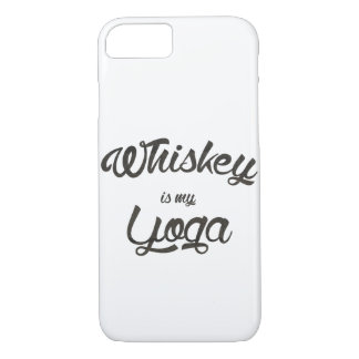 Whiskey is my yoga iPhone 8/7 case
