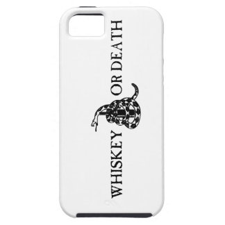 Whiskey or Death iPhone 5 Cover