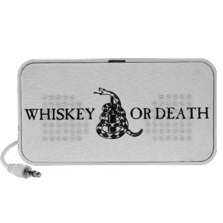 Whiskey or Death Travel Speakers