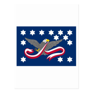 Whiskey Rebellion Flag Postcard