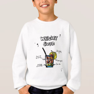 Whiskey Sour Cocktail  Recipe Sweatshirt