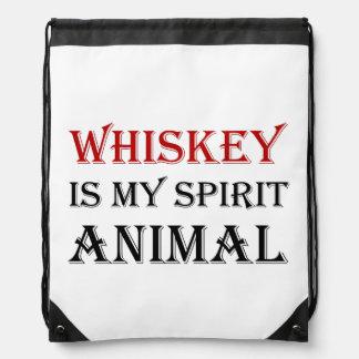 Whiskey Spirit Animal Rucksacks