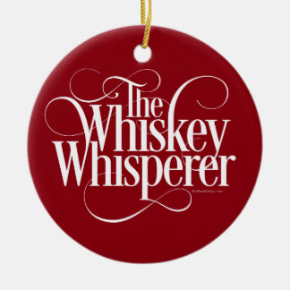 Whiskey Whisperer Christmas Ornament