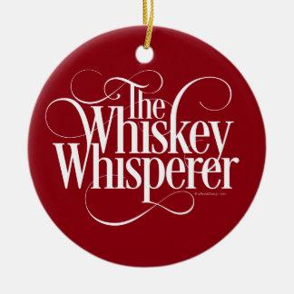 Whiskey Whisperer Christmas Ornament